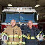 Photo of firemen.