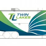 Image depicting Twin Lakes branding on trailer