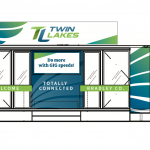 Image depicting Twin Lakes branding on storefront